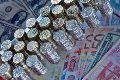 Bancos terão de reduzir o volume de empréstimos e de depósitos, enquanto o número de pagamentos em atraso aumentará Foto: RIA Nóvosti