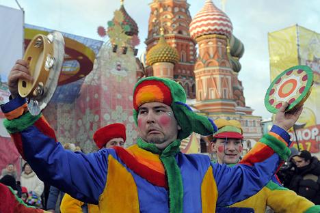 Além das companhias circenses nacionais, os profissionais russos são valorizados pelos grupos estrangeiros Foto: Grigóri Sissóiev/RIA Nóvosti