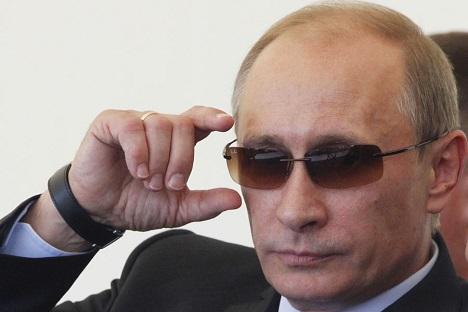 El presidente ruso está usando estrategias asimétricas para detener (y, en última instancia, derrotar) a los enemigos del Estado. Fuente: Ria Novosti