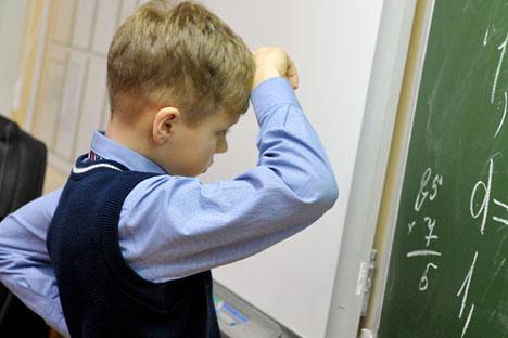 Los resultados del Estudio Nacional de la Calidad de la Educación muestran los serios problemas que arrastra la formación en matemáticas. Fuente: TASS