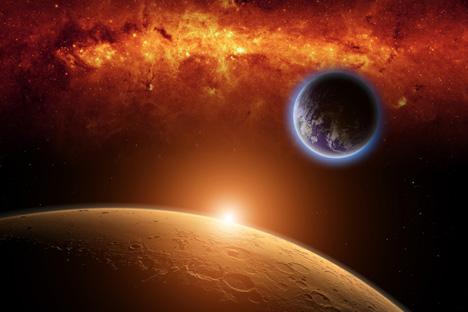 El proyecto espacial en el que participan Rusia y Europa, puede convertirse en una misión de récords. Fuente: shutterstock