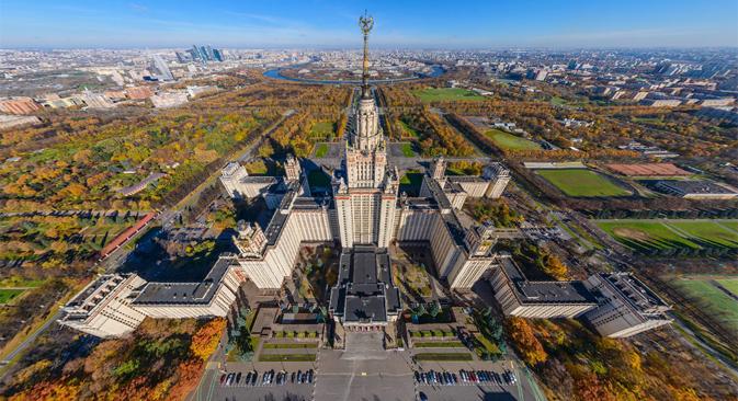 Ao todo, sete universidades da Rússia entraram para o top 100 deste ano Foto:  Airpano.ru