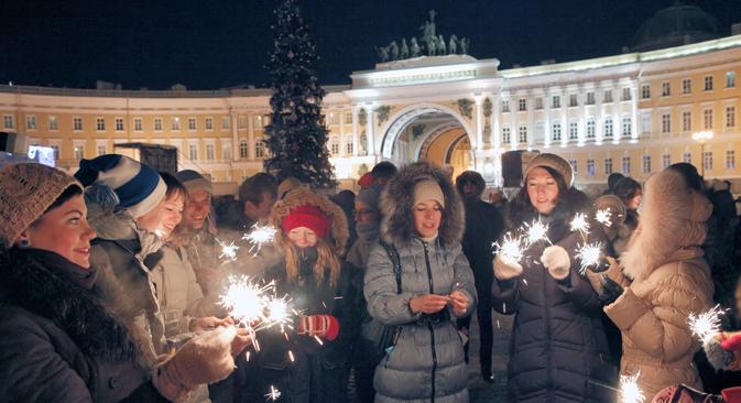 La capital cultural de Rusia se engalana para las fiestas. Fuente: Ria Novosti