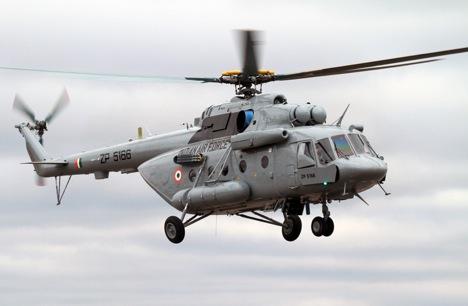 Actualmente se limita a la adquisición de helicópteros rusos Mi-17. Fuente: servicio de prensa