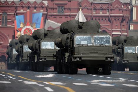 Un quinto regimiento se incorporará a la defensa del espacio aéreo de la capital rusa. Fuente: Ria Novosti