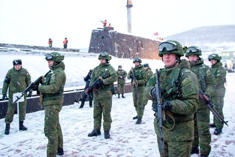 Documento teve como base novo cenário político-militar e natureza das ameaças à segurança nacional Foto: mil.ru