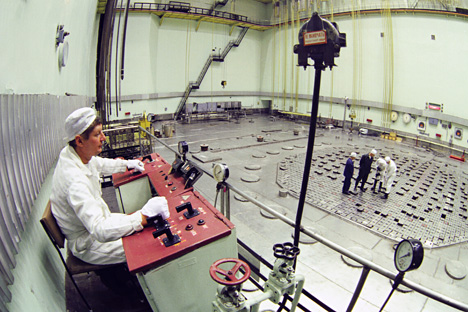 El berilio es utilizado en la industria nuclear y aeroespacial. Fuente: Ria Novosti / A. Solomónov