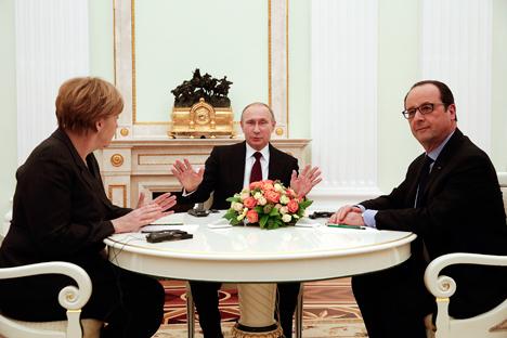 Rusia espera que se puedan mandar tropas de paz y que se reconozcan los últimos avances de los separatistas . Fuente: Reuters