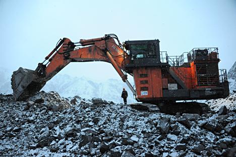 Exportadores de carvão russos ganharam uma vantagem de US$ 20 por tonelada em relação aos produtores da Austrália e da América do Norte Foto: Evguêni Epifantsev/TASS