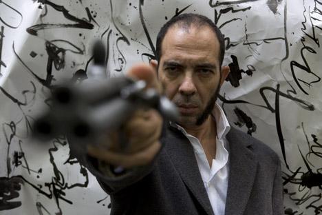 Juan Carlos Lérida presenta en Moscú el espectáculo 'Constante', basado en 'El convidado de piedra', obra del poeta ruso. Fuente: servicio de prensa