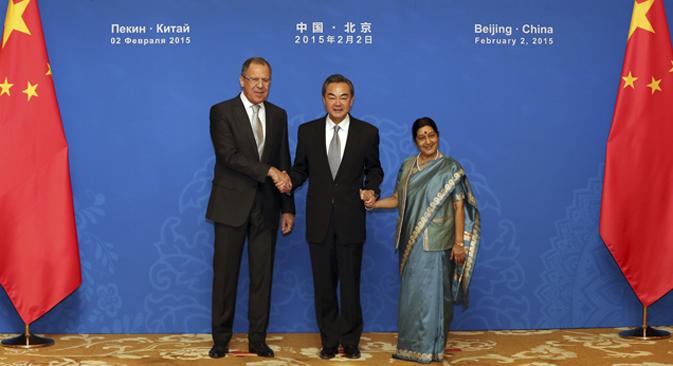 Los ministros de Exteriores se reúnen en Pekín. Fuente: AP