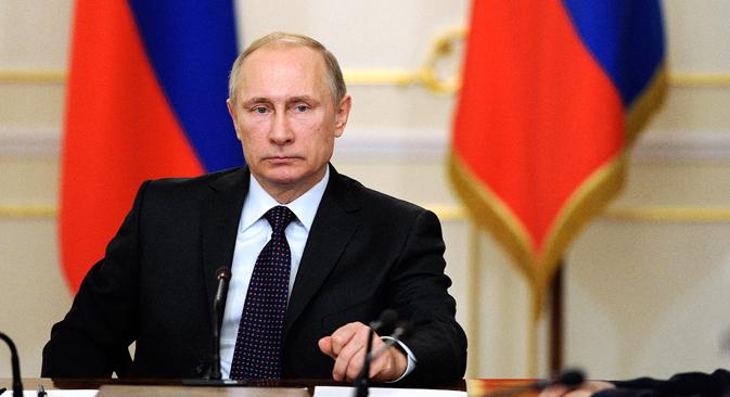 Entrevista al mandatario ruso en el diario egipcio 'Al-Alhram'. Fuente: Reuters