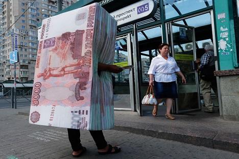 A Rússia, que ocupa o sétimo lugar, apresenta uma taxa de miséria de 20% Foto: AP