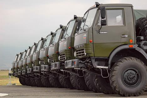 Para testar os caminhões não tripulados, a Kamaz pretende construir também uma minicidade Foto: Photoshot/Vostock-Photo