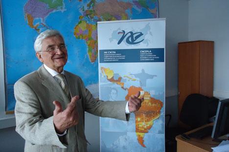 """Pániuchkin: """"Pretendemos ampliar o volume de negócios dos nossos parceiros latino-americanos nos setores energético e metalúrgico, entre outros"""" Foto: Assessoria"""