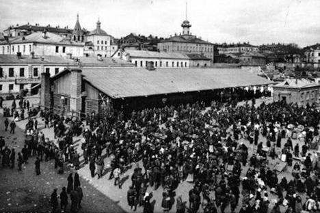 Antiguo mercado de Jitrov. Fuente: http://subscribe.ru