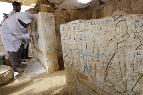 El descubrimiento contribuirá al conocimiento histórico de la capital fundada hace más de 5.000 años. Fuente: AP