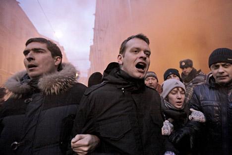 La popularidad del presidente Putin se ha disparado desde la crisis ucraniana y el aumento de la tensión con Occidente. Fuente: Andréi Stenin / Ria Novosti