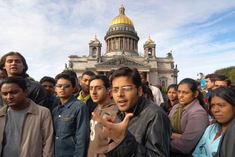 Emendas se referem a estrangeiros matriculados em cursos presenciais e que moram em alojamentos estudantis Foto: Aleksêi Dánitchev/ RIA Nóvosti