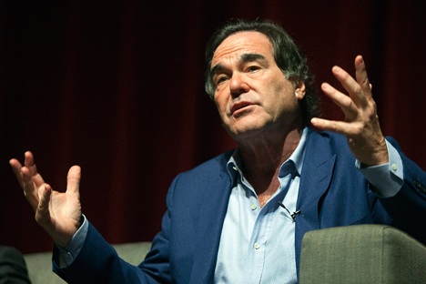 Oliver Stone. Fuente: Reuters