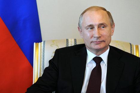 El presidente ruso habla sobre su mandato en programa de televisión. Fuente: Reuters