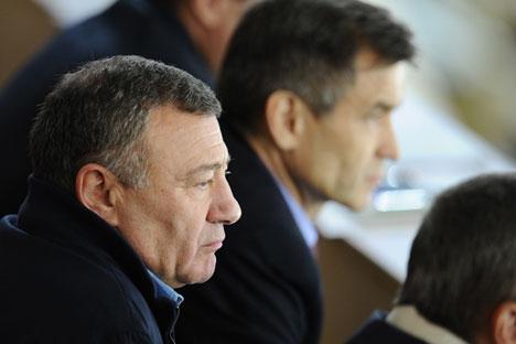El multimillonario Arkadi Rotemberg es uno de los afectados por las sanciones. Fuente: TASS.