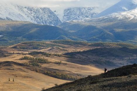 La carretera de Chuiski ha sido declarada como una de las más bellas del mundo. Fuente:  Alexander Nerozya.