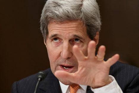 John Kerry, el secretario de Estado de EEUU. Fuente: AP