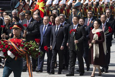 ¿Por qué no fueron a Moscú los líderes europeos y sí los mandatarios de los BRICS? Fuente: AP