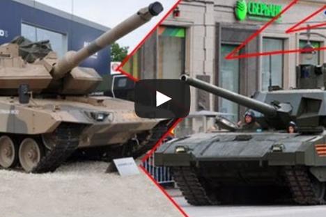 Armata vs. Leopard, el nuevo tanque ruso frente a la tecnología alemana