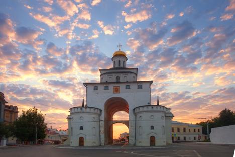 Los monumentos de caliza blanca son típicos en Súzdal y Vladímir. Fuente: Lori/Legion-Media.
