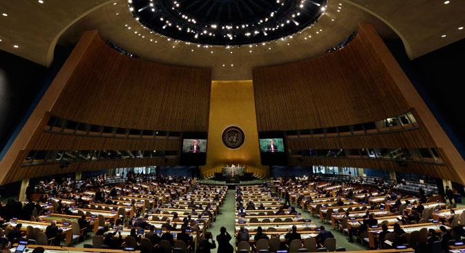 Rusia participa en la conferencia de no proliferación en Nueva York. Fuente: AP