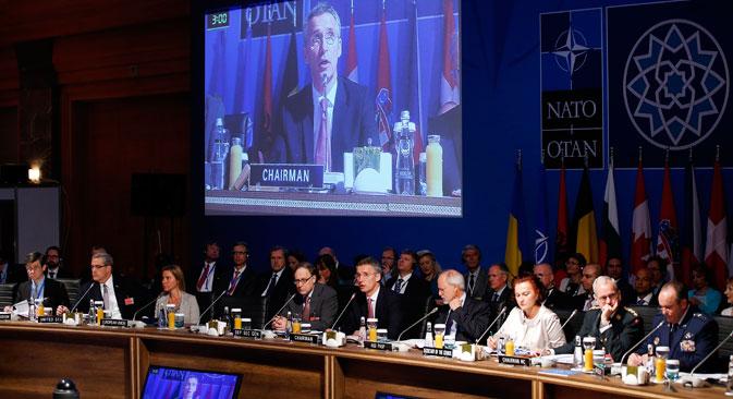 La Alianza se expande en las fronteras del país eslavo. Fuente: AP