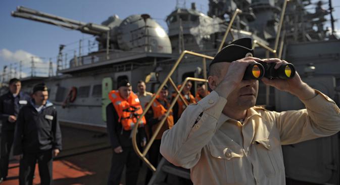 El 11 de mayo comenzaron maniobras conjuntas con China. Fuente: Ria Novosti