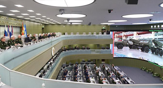 Se trata de un nuevo tipo de conflicto que va más allá del militar. Fuente: Ria Novosti / Alekséi Nikolski