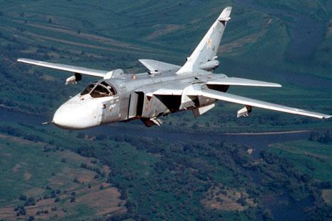 El aparato soviético realizó su primer vuelo en 1970 y combinaba las cualidades de un cazabombardero y un interceptor. Fuente: AP