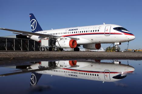Durante casi tres años de explotación, estos aviones rusos han logrado conquistar el mercado mexicano. Fuente: TASS / Marina Lystseva