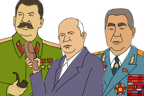 lideres sovieticos