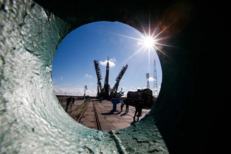 Los Soyuz se encargarán de poner en órbita centenares de microsatélites que tienen como objetivo hacer accesible la Red en todo el planeta. Fuente: EPA