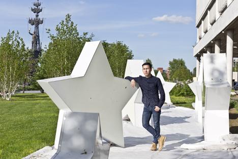 Bryan Andrés Caro García, en el Parque Gorki de Moscú. Fuente: Mark Boiarski