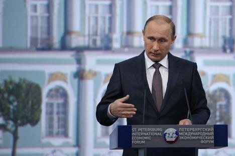 El presidente ruso se muestra optimista respecto a la superación de la crisis. Fuente: Valery Sharifulin / TASS