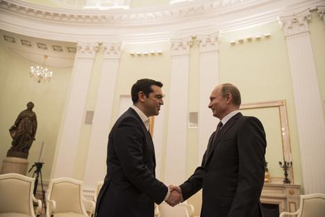 El primer ministro griego acude el jueves al Foro Económico que se celebra en la ciudad rusa. Fuente: servicio de prensa