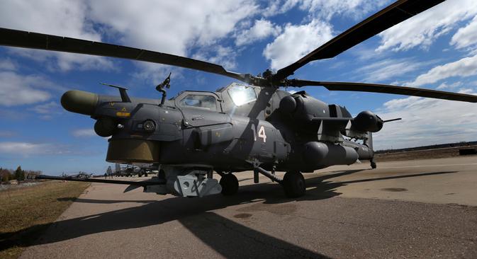 Mi-28N 'Cazador nocturno'. Fuente: TASS / Valeri Sharifulin
