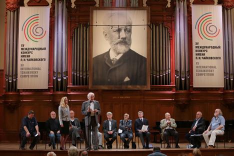 Inauguración del evento en el Conservatorio de Moscú. Fuente: servicio de prensa