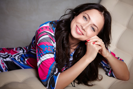 Actriz Nastasia Samburskaya