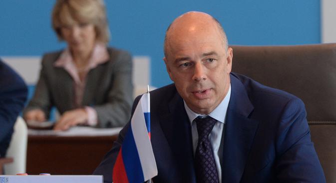 Antón Siluánov, ministro de Finanzas. Fuente: Ria Novosti / Vladímir Fedorenko