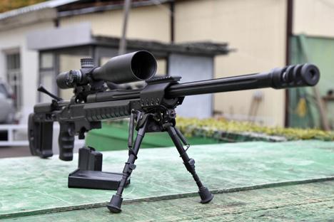 El fusil de francotirador T-5000.