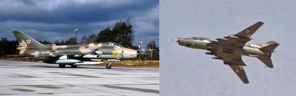 Američani so sestrelili letalo sirske vojske Su-22 ruske izdelave.