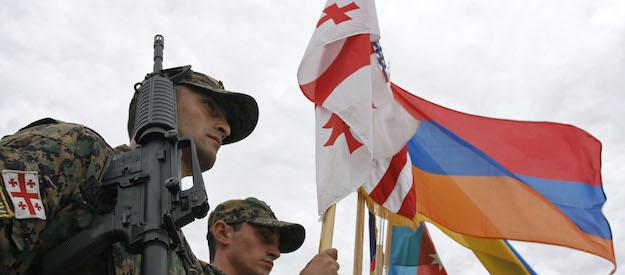 Ejercicio de la OTAN en Georgia.