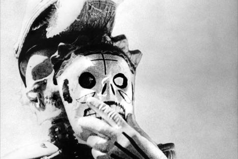 Escena de la película ¡Que viva México!, de Serguéi Eisenstein.